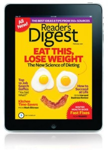 Reader's Digest ahora usa Digital Publishing Suite