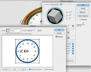 3D Options Illustrator CS5