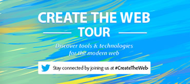 Create The Web Tour evento de Adobe sobre HTML5