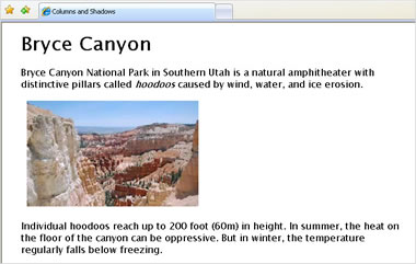 Visualización de Sitio Web en Internet Explorer 7