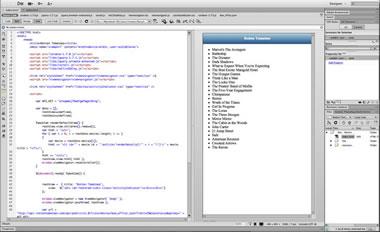 Vista ViewNavigator con Datos