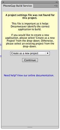 Proyecto en PhoneGap Build